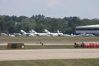 Oakland County International Airport (PTK) - Looking across to light cargo ramp - by Florida Metal