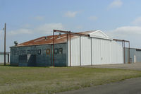 Cleburne Regional Airport (CPT) - Old Aero Colors Hanger at Cleburne Municipal - by Zane Adams