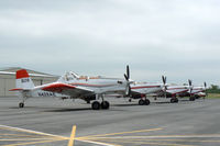 Mineral Wells Airport (MWL) - Single Engine Air Tankers in Texas for the Possum Kingdom Fire - At Mineral Wells Airport  - by Zane Adams