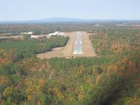 Polk County Airport- Cornelius Moore Field Airport (4A4) - On final for 27 at Cedartown  - by David_57@bellsouth.net