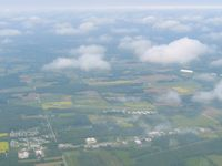 Madison Municipal Airport (IMS) - Looking west from 4500' - by Bob Simmermon