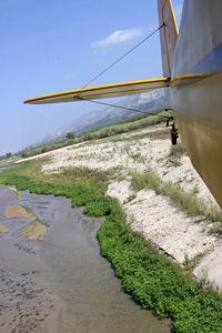 Santa Paula Airport (SZP) - low level santa clara riverbed 5 miles east of szp - by pete mason
