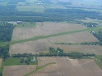 Morningstar North Airport (3OH1) - Looking east from 2500' - by Bob Simmermon