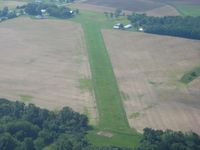 Morningstar North Airport (3OH1) - Looking SE from 2500' - by Bob Simmermon