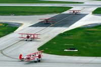 The Eastern Iowa Airport (CID) - Red Baron Pizza team arrives for an over-night stay - by Glenn E. Chatfield