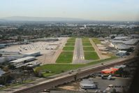 Fullerton Municipal Airport (FUL) - Seen on approach to Runway 24 - by Nick Taylor Photography