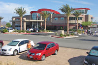 Boulder City Municipal Airport (BVU) - The smart passenger terminal at Boulder City municipal - by Terry Fletcher
