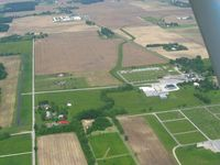 Brookville Air-park Airport (I62) - Looking west - by Bob Simmermon