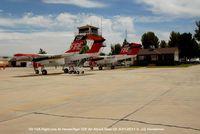 Hemet-ryan Airport (HMT) - OV-10A flight line at hemet-Ryan CA - by J.G. Handelman
