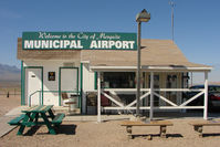 Mesquite Airport (67L) - The offices at Mesquite Municipal , Nevada - by Terry Fletcher