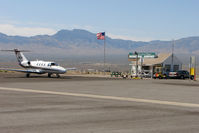 Mesquite Airport (67L) - Bizjet visitor to Mesquite Nevada - by Terry Fletcher
