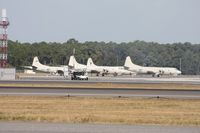 Jacksonville Nas (towers Fld) Airport (NIP) - P-3s on the ramp - by Florida Metal