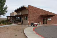 Canyonlands Field Airport (CNY) - Terminal Building at Moab Canyonlands - by Terry Fletcher