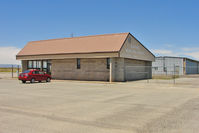 Blanding Municipal Airport (BDG) - Terminal Building at Blanding Municipal - by Terry Fletcher