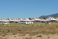 Kingman Airport (IGM) - Stored aircraft at Kingman AZ - by Terry Fletcher