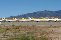 Kingman Airport (IGM) - Stored aircraft at Kingman - by Terry Fletcher