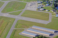 Dillant-hopkins Airport (EEN) - Runway 32 and Green River Aviation. - by Ron Yantiss