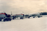 Ted Stevens Anchorage International Airport (ANC) -  Northern Air Cargo tarmac at Anchorage.