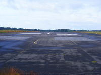 Tatenhill Airfield - view down RW26 at Tatenhill - by Chris Hall