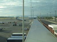 Minneapolis-st Paul Intl/wold-chamberlain Airport (MSP) - United Express ramp - by Ronald Barker