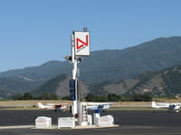 Santa Ynez Airport (IZA) - 100LL Fuel Dock - by Doug Robertson