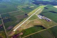 Albertus Airport (FEP) - Albertus Airport from the northeast looking southwest. - by Gary Dikkers