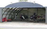 LHSK Airport - Siofok-Kiliti Airport - ORFK Hungarian Fly Police base - by Attila Groszvald-Groszi