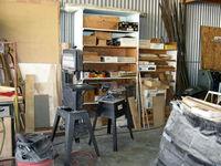 Santa Paula Airport (SZP) - Joe Krybus's Bucker Shop-Woodworking machines - by Doug Robertson
