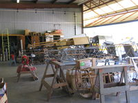 Santa Paula Airport (SZP) - Joe Krybus's Bucker Shop-Various Bucker in-builds - by Doug Robertson