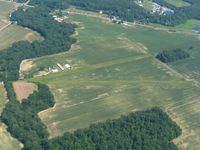 Weiker Airport (82D) - Looking east from 2500' - by Bob Simmermon