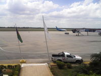 La Chinita International Airport - View of the main ramp from the terrace of the main building. - by Jose Gilberto Paz