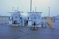 Moorhead Municipal Airport (JKJ) - Self serve fuel - by Timothy Aanerud