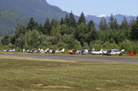 Mears Field Airport (3W5) - The far side parking for the fly-in looking spartan in later in the afternoon. Some 150 aircraft attended. - by Duncan Kirk