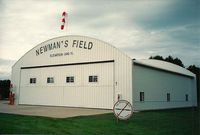 Newman's Airport (4N0) - The old hangar. Not seen is the vintage pump outside.  - by mbvader