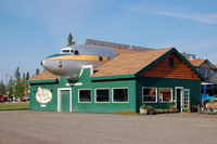 Fairbanks International Airport (FAI) - Douglas DC-6 The Lucky Duck at Pikes Aviator Greenhouse and Sweets, Fairbanks, AK - by scotch-canadian