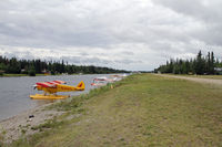 Chena Marina Airport (AK28) - A great airfield with lots of nooks and crannys and landing for both float and wheeled planes - by Duncan Kirk