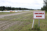 Chena Marina Airport (AK28) - The threshold for this fabulous airstrip close to Fairbanks - by Duncan Kirk