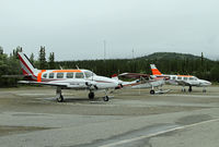Denali Airport (AK06) - This private airport serves Denali Air and their tourist flights - by Duncan Kirk