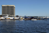 Kenmore Air Harbor Seaplane Base (W55) - Kenmore's float plane base on Lake Union can get really busy in the summer - by Duncan Kirk