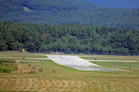 Dillant-hopkins Airport (EEN) - Dillant-Hopkins Airport runway 02 - by Ron Yantiss