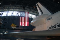 Washington Dulles International Airport (IAD) - Space Shuttle Enterprise at the Steven F. Udvar-Hazy Center, Smithsonian National Air and Space Museum, Chantilly, VA - by scotch-canadian