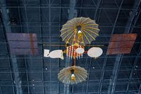 Washington Dulles International Airport (IAD) - Tracking and Data Relay Satellite at the Steven F. Udvar-Hazy Center, Smithsonian National Air and Space Museum, Chantilly, VA - by scotch-canadian