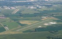 Willmar Muni-john L Rice Field Airport (BDH) - Willmar's John Rice Field/Willmar Municipal Airport from 4500'. In the distance you can see the old John Rice Field (ILL/KILL). - by Kreg Anderson