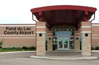 Fond Du Lac County Airport (FLD) - Main terminal entrance - by Terry Fletcher