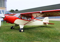 Oaksey Park Airport - RC model of Piper PA-12 N2820M - by Chris Hall