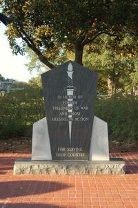 Maxwell Afb Airport (MXF) - Prisoners of War Monument at Maxwell AFB, Montgomery, AL - by scotch-canadian