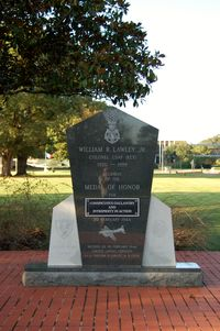 Maxwell Afb Airport (MXF) - William R. Lawley Jr. Monument at Maxwell AFB, Montgomery, AL - by scotch-canadian