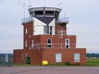 Gloucestershire Airport, Staverton, England United Kingdom (EGBJ) - Staverton Tower - by Chris Hall