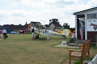 Lashenden/Headcorn Airport, Maidstone, England United Kingdom (EGKH) - Busy morning at the TIGER CLUB. - by Martin Browne