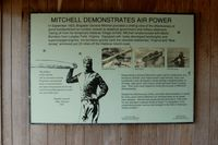 Billy Mitchell Airport (HSE) - Sign at Billy Mitchell Airport, Frisco, NC - by scotch-canadian